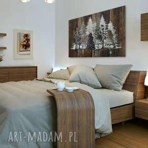 obraz na płótnie - drewno deski natura drzewa - 120x80 cm (82201)