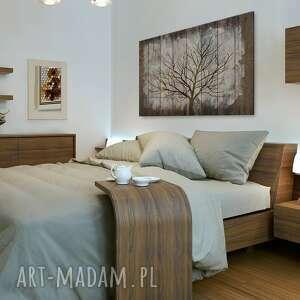 brązowe drzewo obraz na płótnie - drewno