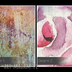 niepowtarzalne róże obraz na płótnie - kolorowy
