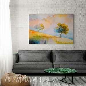 drzewa obraz na płótnie - jesień sad