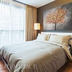 drzewo obraz na płótnie - liście