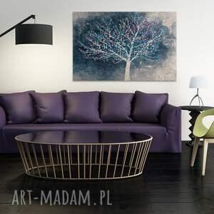 drzewo obraz na płótnie - pejza&#380