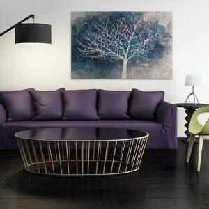 niepowtarzalne obrazy drzewo obraz na płótnie - liście
