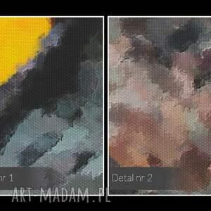 wyjątkowe obrazy oczy obraz na płótnie - sowa