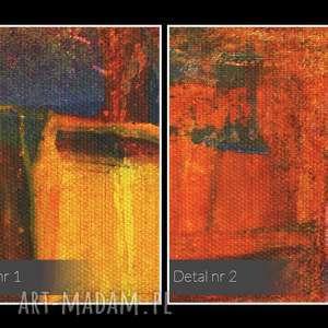 niesztampowe ekspresjonizm obraz na płótnie - abstrakcja