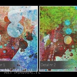 oryginalne kolorowy obraz na płótnie - abstrakcja