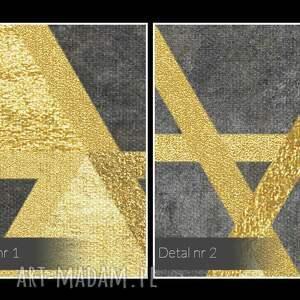 oryginalne dekoracja obraz na płótnie - trójkąty