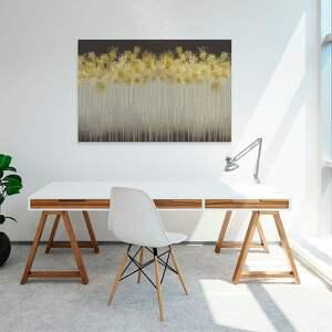 złote elegancki design: piękny obraz o nowoczesnym, niebanalnym