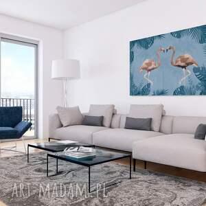atrakcyjne obrazy flamingi obraz na płótnie -