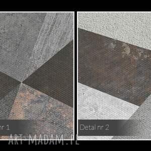 VAKU DSGN ciekawe beton obraz na płótnie - bloki