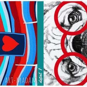 intrygujące obraz na płótnie - 70x100cm
