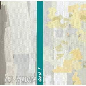 obrazy grafika obraz na płótnie - 150x60cm las
