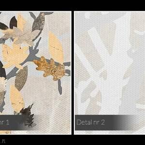 ręcznie robione obrazy jesień obraz na płótnie - jesienne liście