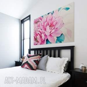 urokliwe kamelia obraz na płótnie - kwiaty różowy