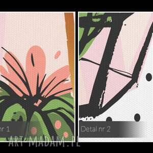 oryginalne klosz obraz na płótnie - kaktusy