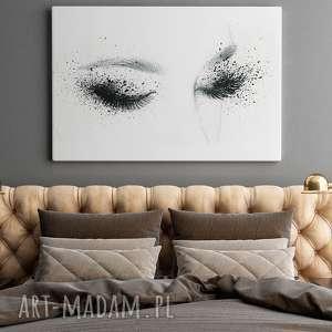 intrygujące kobieta obraz na płótnie - oczy