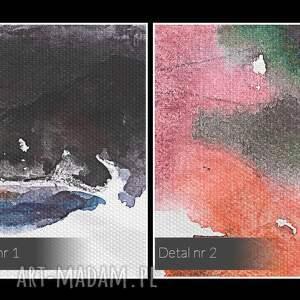 obrazy kolorowy obraz na płótnie - kobieta portret