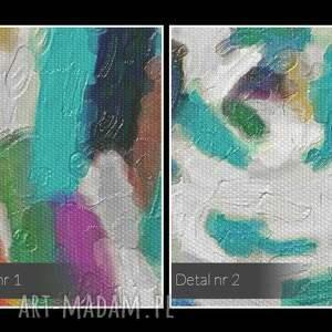 kolory obraz na płótnie - wir
