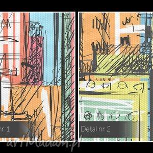 eleganckie budynki obraz na płótnie - miasto