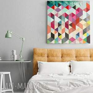 obraz trójkąty design: piękny o nowoczesnym