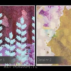 ciekawe obrazy góry obraz na płótnie - kolorowy las