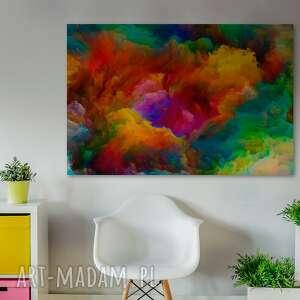 VAKU DSGN kolory obraz na płótnie - kolorowe chmury