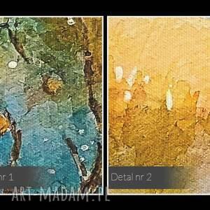 krajobraz obraz na płótnie - jesień sad