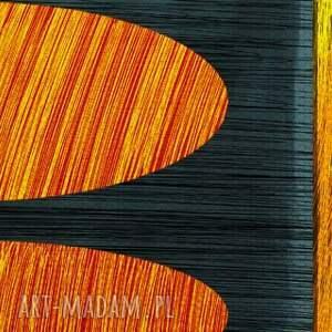 niepowtarzalne obrazy kształty obraz na płotnie - 150x60cm