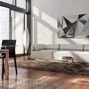 marmur białe obraz na płótnie - beton