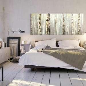 obrazy las obraz na płótnie - 150x60cm