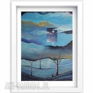 obrazy las obraz na płótnie -sen - abstrakcja