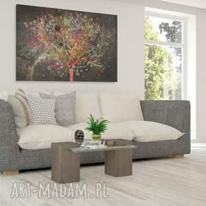 liście obrazy obraz na płótnie - drzewo