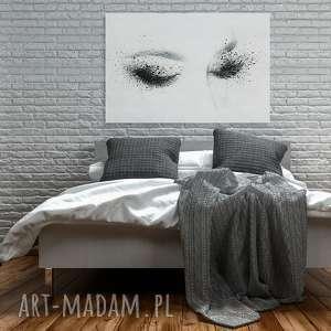 makijaż obraz na płótnie - kobieta oczy