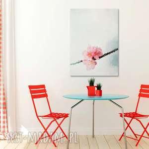 minimalizm obraz na płótnie - delikatny kwiat