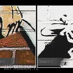 obrazy mur obraz na płótnie - banksy pokojówka