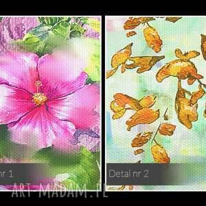 obrazy rośliny obraz na płótnie - ogród kwiaty