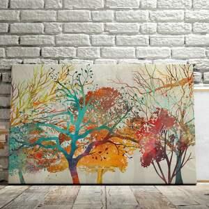 natura obraz na płótnie - drzewa