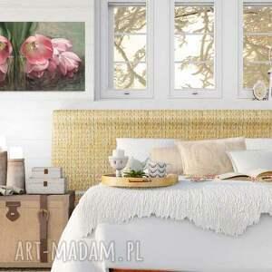 obrazy na płótnie różowe obraz na 100 x 50, kwiaty