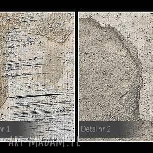 efektowne abstrakcja obraz na płótnie - beton