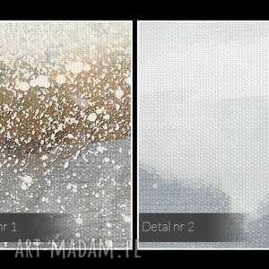niepowtarzalne nowoczesny obraz na płótnie - góry abstrakcja