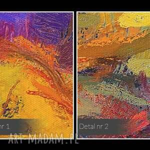 morze obraz na płótnie - abstrakcja