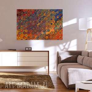 surrealizm obraz na płótnie - kształty kolory