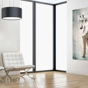 atrakcyjne obrazy obraza-koń obraz na płótnie - 60x100cm pan koń