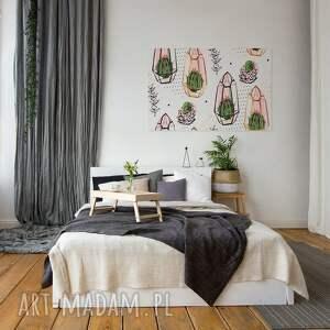 kaktusy obrazy zielone obraz na płótnie -