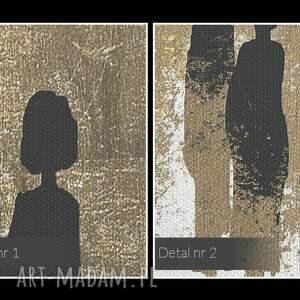 unikalne postacie obraz na płótnie - sylwetki