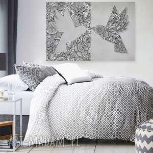 hand made obrazy ptak obraz na płótnie - wzory
