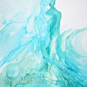 niepowtarzalne obrazy ręcznie malowane obraz na płótnie malowany tuszem