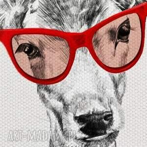 atrakcyjne jelenie obraz na płótnie - 100x80cm rodzina