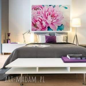 roślina obraz na płótnie - kwiaty różowy
