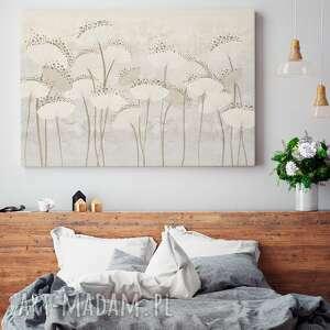 rośliny obraz na płótnie - dmuchawce kwiaty